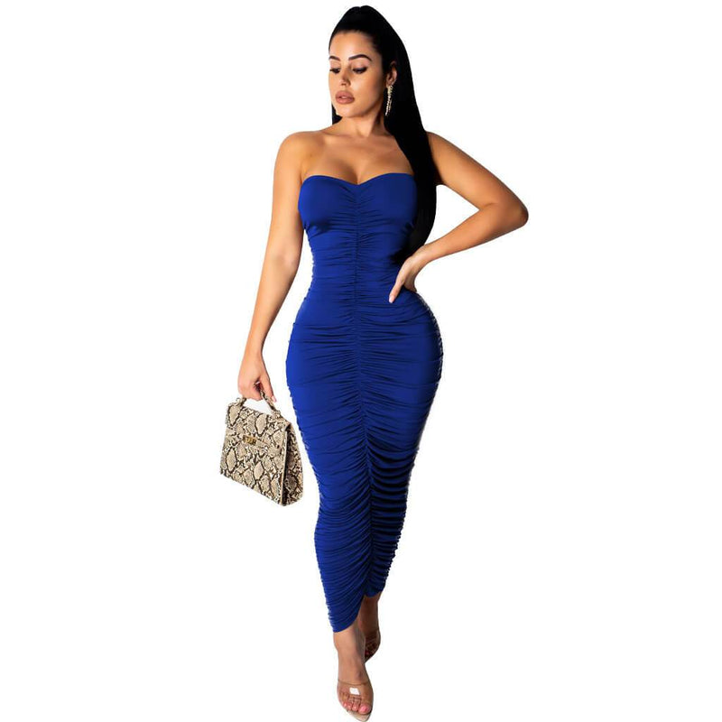 Sexy Bodycon Backless Pencil Dress