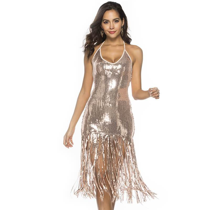 Sequin Sexy Fashion Dress