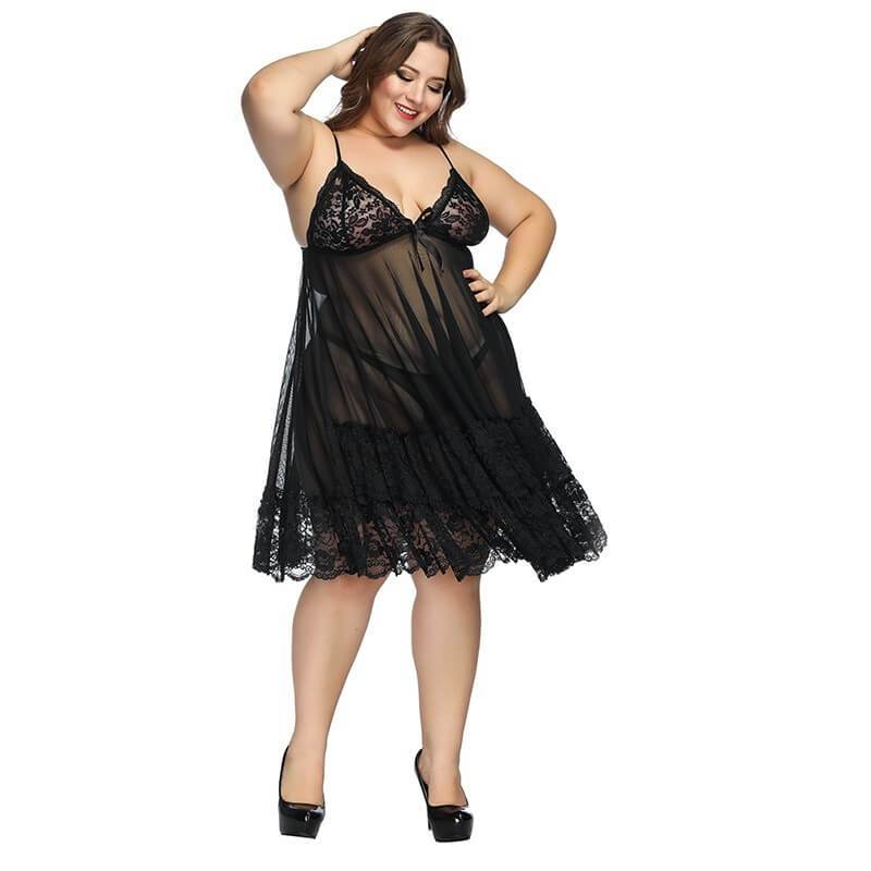 10 Dollar Lingerie With Plus Size Women