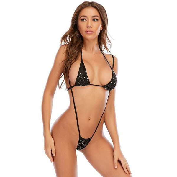 Cute Mini Lingerie - Black Corlors