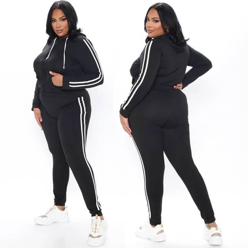 Plus Size  Sports And Leisure 3 Color Women's Wear