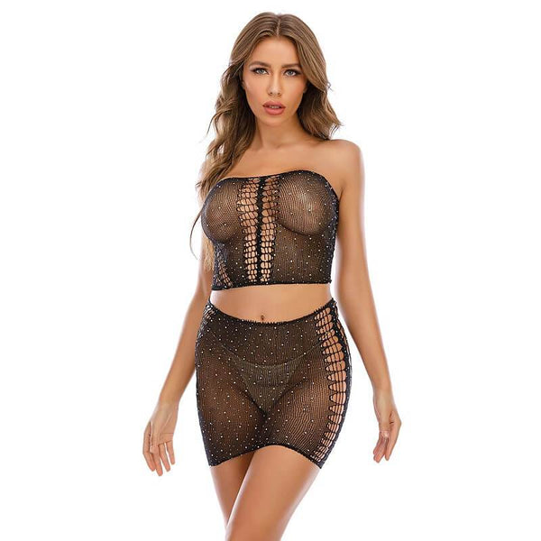 2 Piece See Through Nightwear