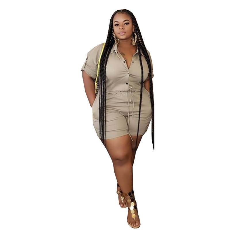 Plus Size Women's Overalls