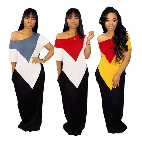 Off The Shoulder Maxi Dress 3 Color