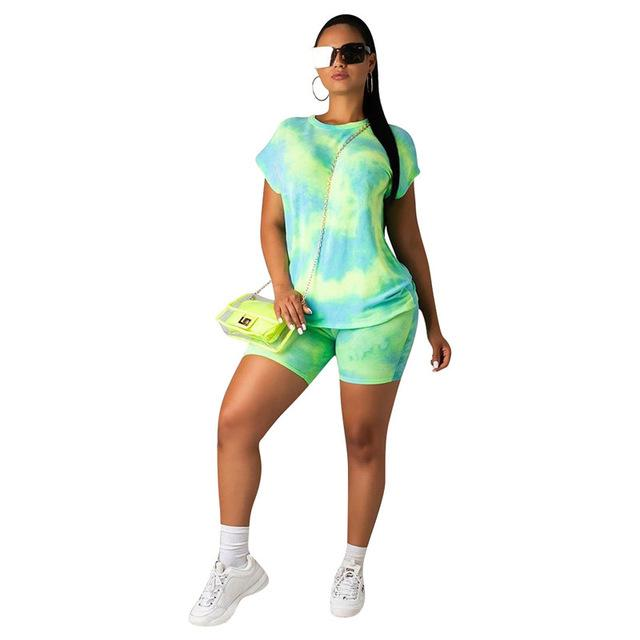 Women 2 Piece Sets Outfits Streetwear Printed