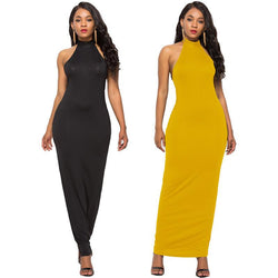Solid Color Casual Pencil Dress