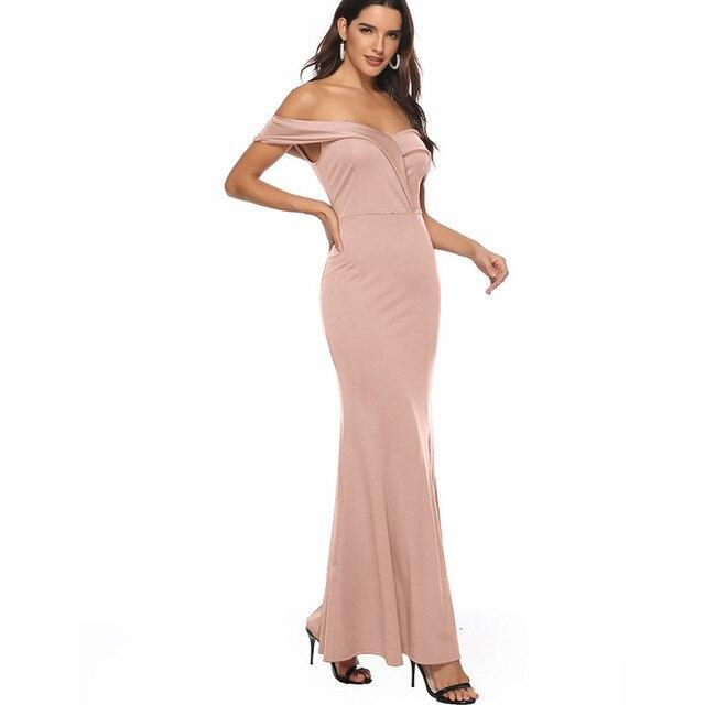 High Split Sexy Dress Ankle Length