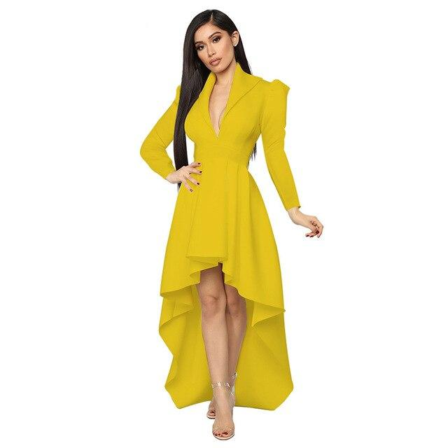 Sexy Valentines Dress - yellow Color
