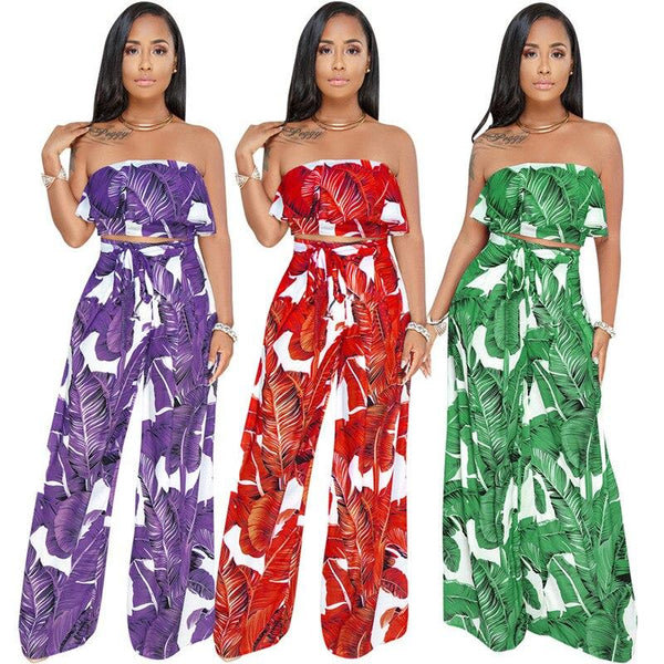Off The Shoulder 2 Piece Set - Wholesale Two Piece Sets | Chic Lover