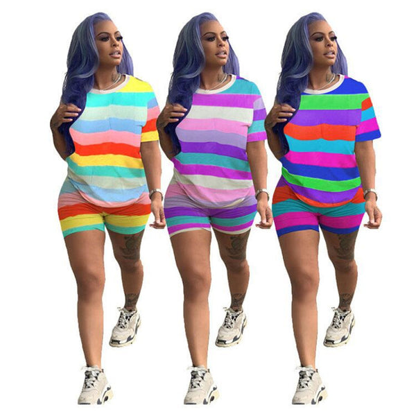 Streetwear Plus Size 2 Piece Outfits
