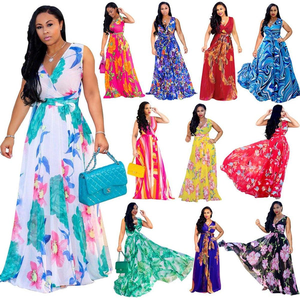 Summer Women Maxi Dress