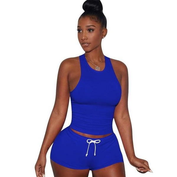 Casual Women Two Piece Set Sportwear