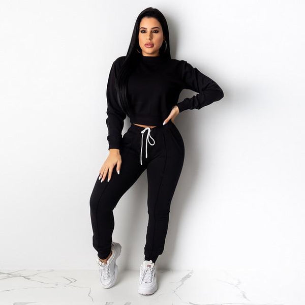 Long Sleeve Tracksuit 2 Piece Set