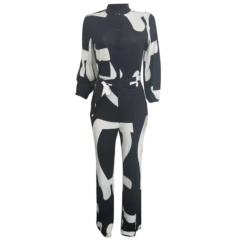 Plus Size Color Block Button Up Causal Rompers Womens Jumpsuit
