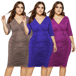 Plus Size Summer Dresses With Sleeves - main picture