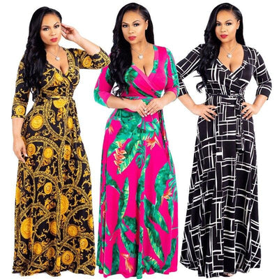 Plus Size Dresses Online - three colors