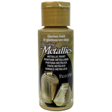 DecoArt Dazzling Metallics - Glorious Gold - 2 oz
