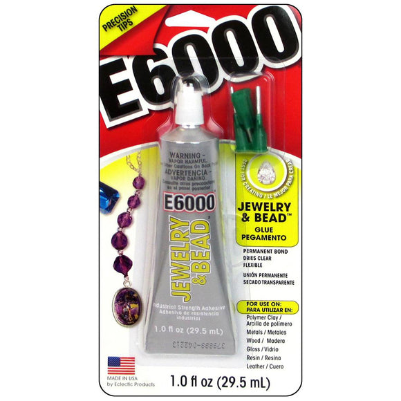 Eclectic Adhesive E6000 Jewelry & Bead Glue