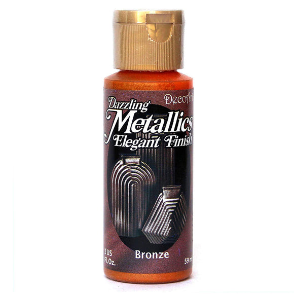 DecoArt Dazzling Metallics - Bronze - 2 oz