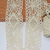 5mt Cotton Crochet Lace Vintage Trimming (614)