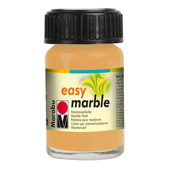 Marabu Easy Marble Paint 0.5 oz Gold