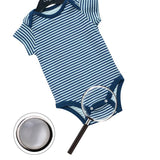 9.5 mm Baby Dress, Shirt Silver Press Studs & Pearl Snap Fastener.
