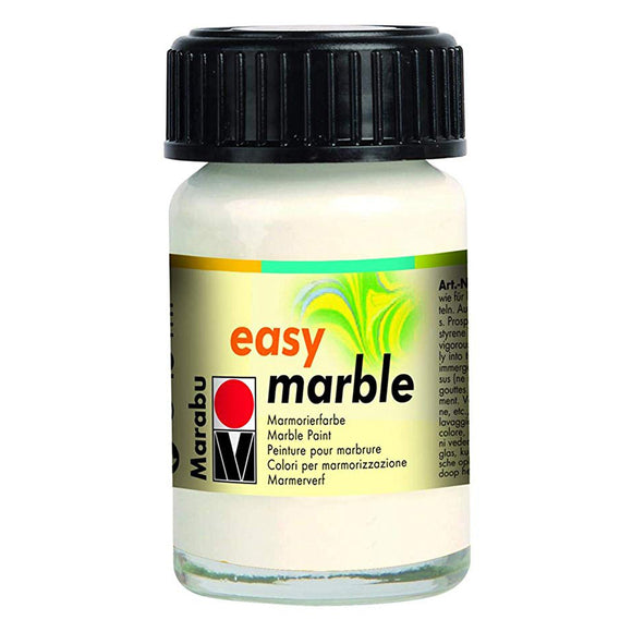 Marabu Easy Marble Paint 0.5 oz White