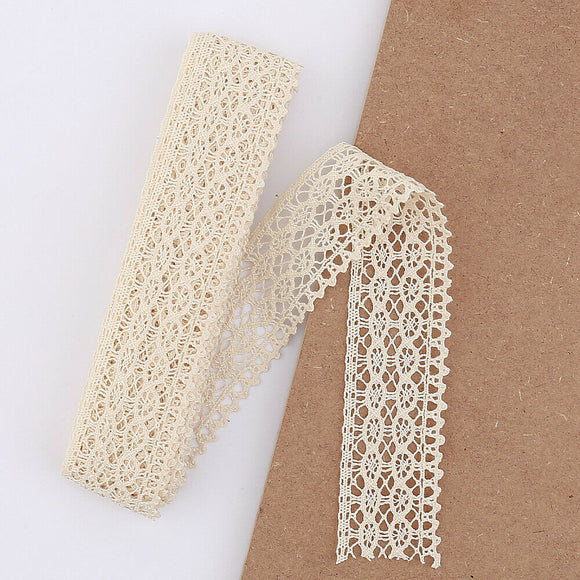 5mt Cotton Crochet Lace Vintage Trimming (2046)
