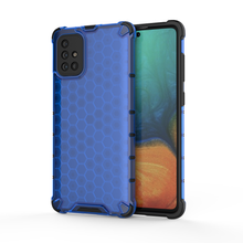 Load image into Gallery viewer, Samsung Galaxy A71 Honeycomb Style With Camera Protection hard case