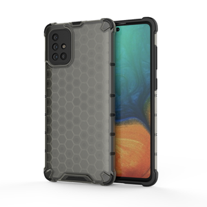Samsung Galaxy A71 Honeycomb Style With Camera Protection hard case