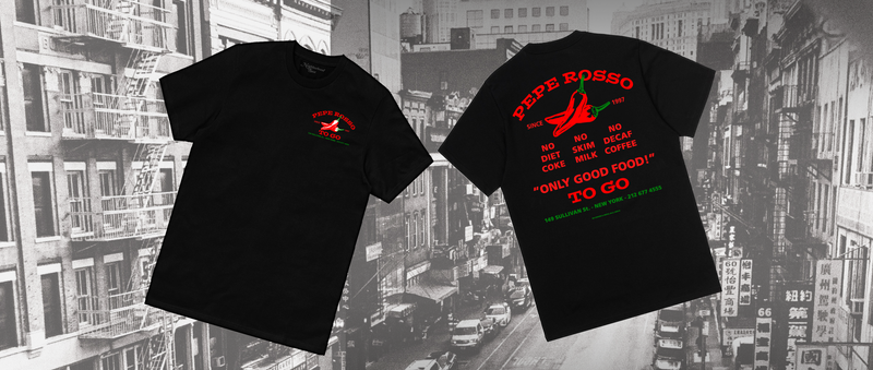 Complex SHOP X Neighborhood Spot: The Pepe Rosso To Go Tee