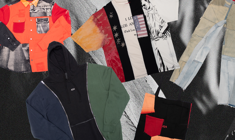 Guillermo Andrade X Complex SHOP Celebrate 10 Years of 424 with an Archival REWORKED Capsule