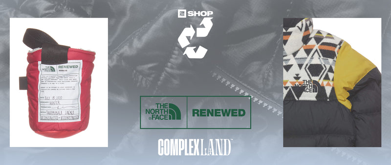 Complex SHOP Presents Reconstruct: Explore The North Face's Renewed and Remade Programs