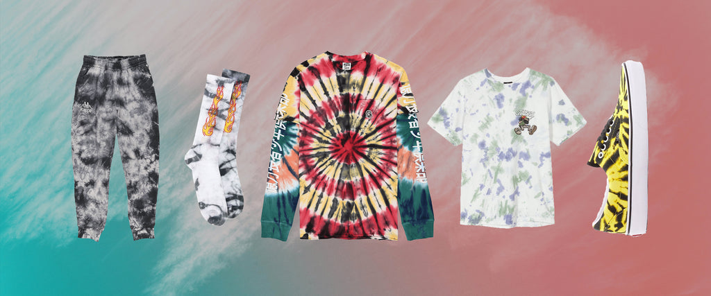 The Tie-Dye Glow-Up With Pieces From Amiri, Palm Angels, and Etudes