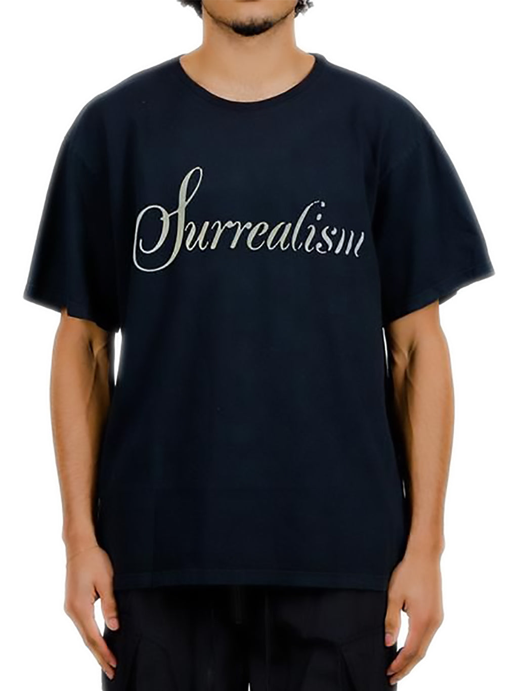 Black Painted Surrealism T-Shirt