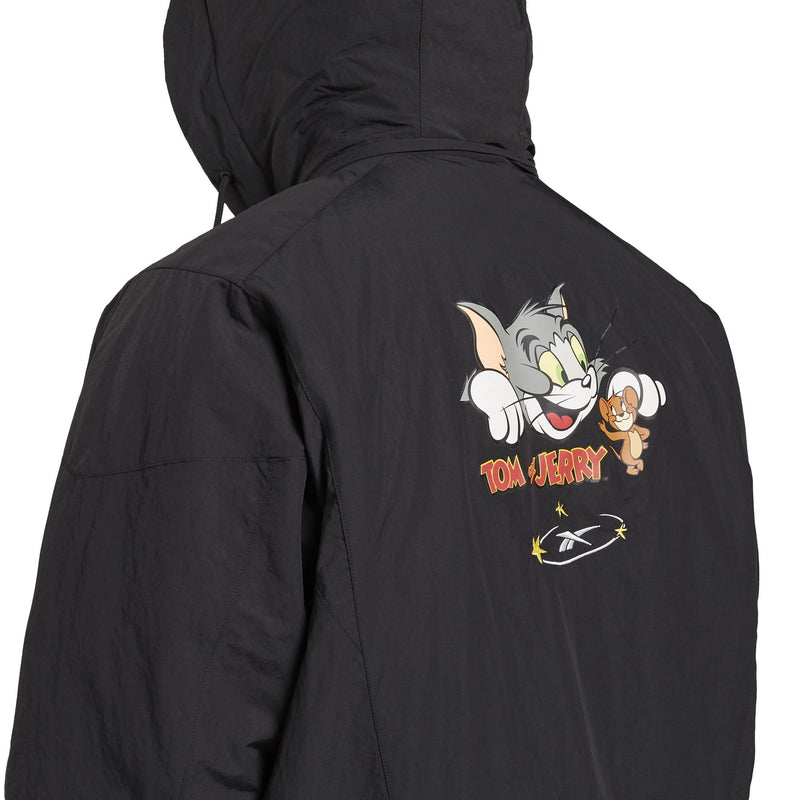 Black Warner Bros Tom and Jerry Woven Jacket