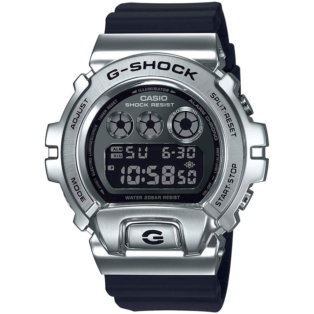 Black G-Shock Metal Bezel 6900 Watch