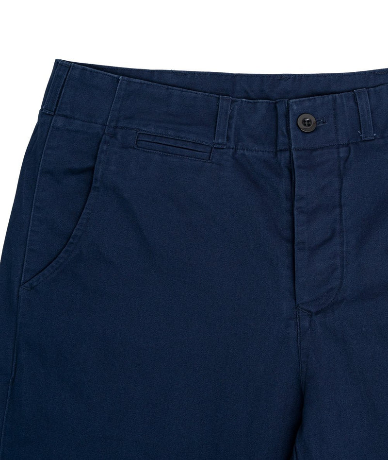 Navy Classic Twill Pant