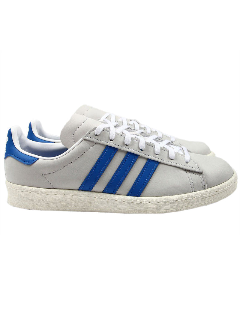 Grey & Blue Campus 80s Superstar Sneakers