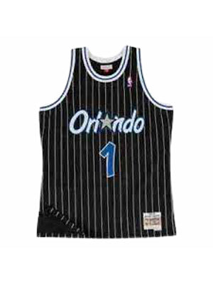 Black NBA Orlando Magic Anfernee Hardaway T-shirt