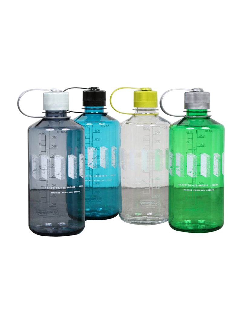 Multi Logo Nalgene Water Bottle