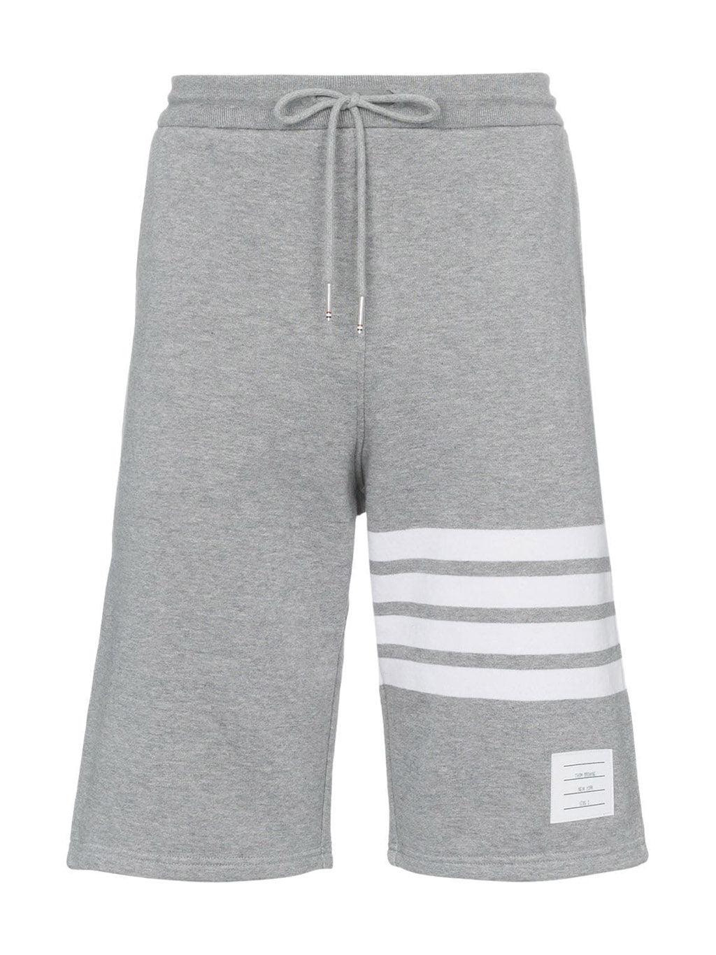 Grey 4-Bar Jersey Sweatshorts