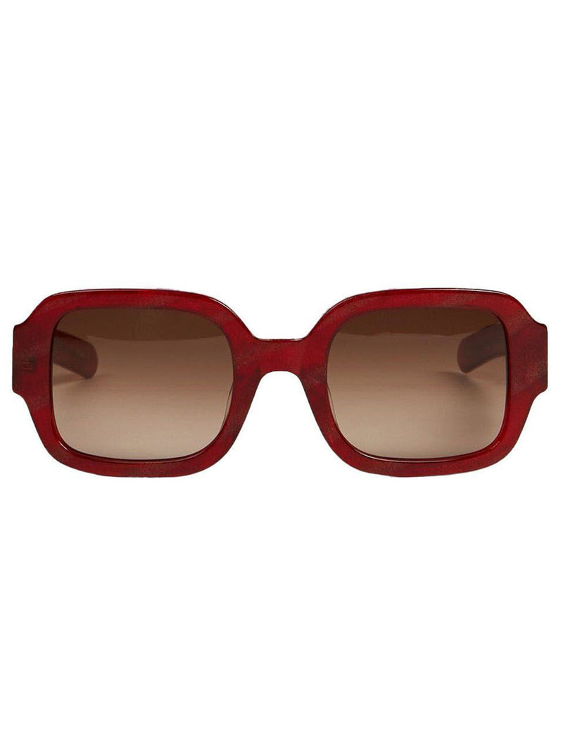 Red & Brown Tishkoff Sunglasses
