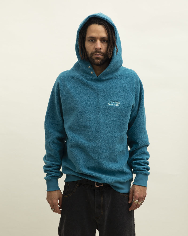 Green PRM Reversed Fleece Hoodie