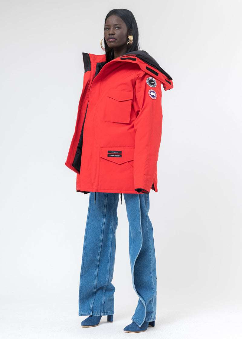 Red Canada Goose Edition Down Constable Parka