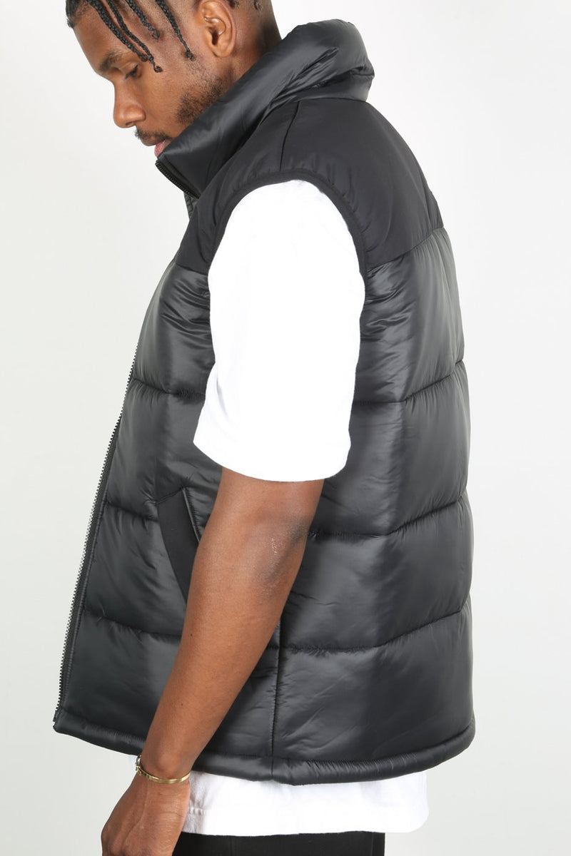 Black Himalayan Synth Vest