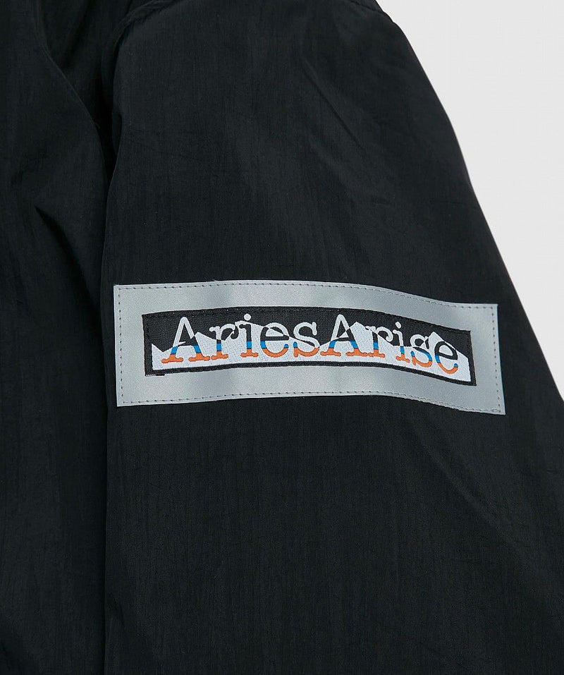 Grey & Black Reversible Parka