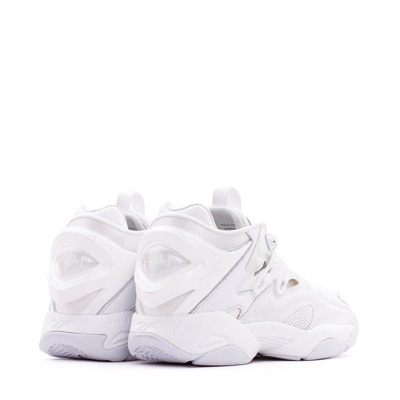 White Pump Court Sneakers