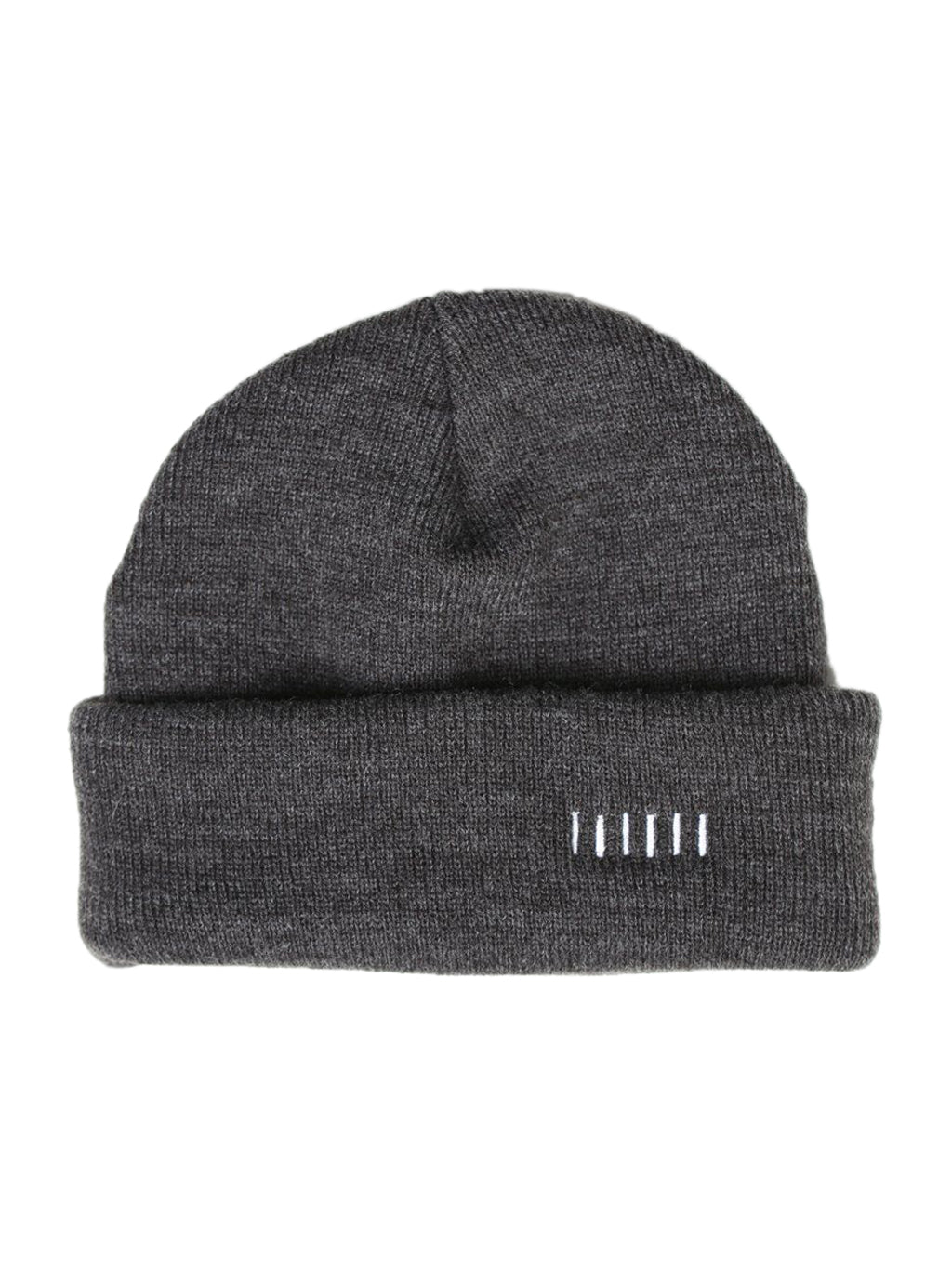 Charcoal Two-Way Beanie