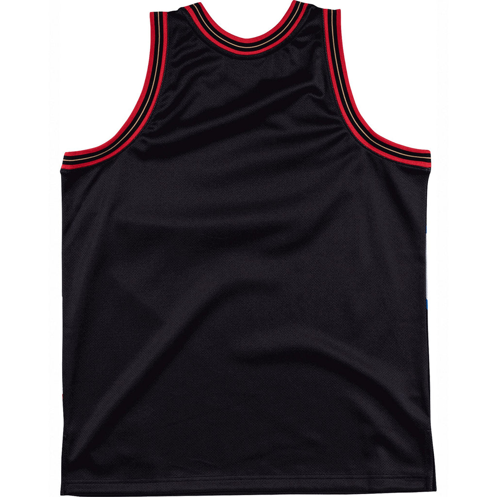 Black NBA Philadelphia 76ers Big Face Jersey